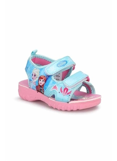 Gigi Gigi Ayakkabı Frozen Sandalet Turkuaz Pembe Pembe